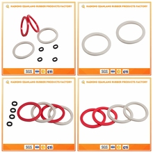 Fashion Round Flat Gasket Air Proof Seal Rings Silicone Rubber O-Rings