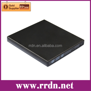 USB2.0 External Super Slim DVD Disc Drive(Inside drive: Panasonic UJ8G2)
