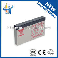 sealed lead acid battery 6v/12v 2ah yuasa np2-12 seal lead acid rechargeable battery