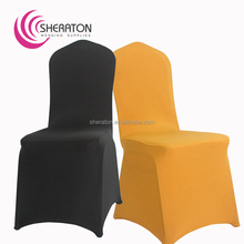 Factory price lycra spandex stretch cheap party chair covers / wholesale stretch universal chair cover for wedding party banquet