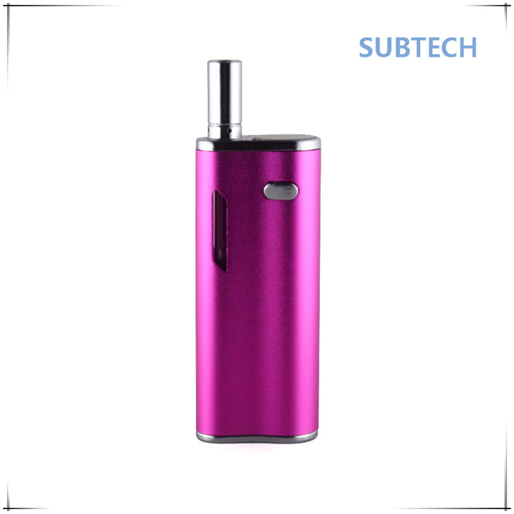 2017 hot selling product 650mah battery evod portable dry herb vaporizer for wholesales price