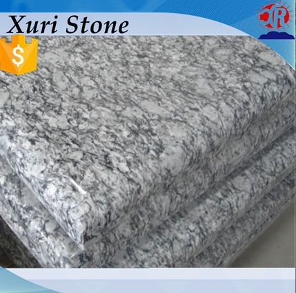 Cheap Price Spray White Granite , Spray white granite tiles 60x60