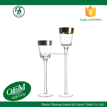 Tall glass candle holder cheap