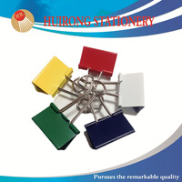 41mm creative colored foldback binder clips