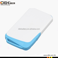 Size 146*78*14mm portable mobile power 8500mAh 5V power pack for smart phone PB-AS015