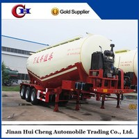 2016 cheap price hot sale New Powder Material Tanker/Bulk Cement Tank Trailer With Large Volume Optional