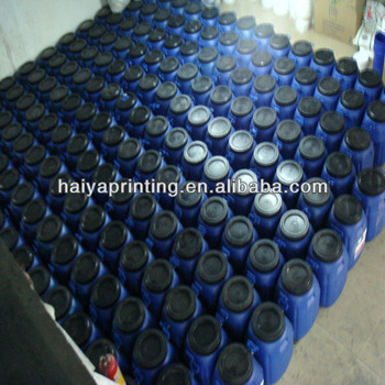 Water base printing ink for ribbon,luggage and handbag