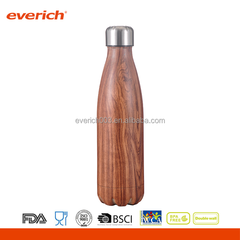 Christmas Promotional Stainless Steel Water Bottle Leak Proof Vacuum Flask