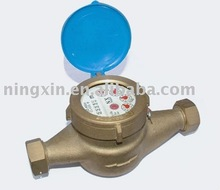 multi-jet wet dial water meter