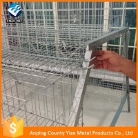 alibaba china market 2 meters 3 Tier 24 Nest Layer Chicken Cage/4 Tier 160 Chickens Layer Cage