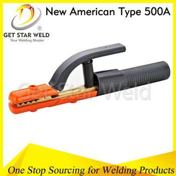 New American type 500A full brass welding electrode holder