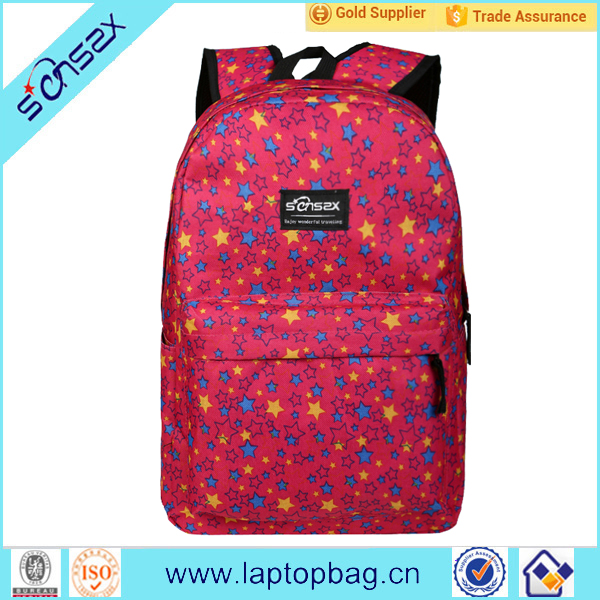 Wholesale Hot Style School Canvas backpack for girls
