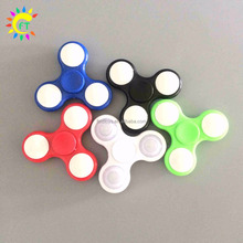 Light up Hand Fidget Spinner LED Glowing Hand Spinner Fidget Toys for Kids Adults