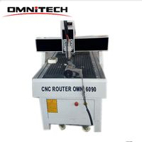Best quality OMNI 6090 3d cnc wood carving router 6090 with competitive price