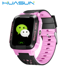 Baby GPS Tracking System Supported Two Way Phone Talking Wrist Watch GPS Tracking Device For Kids