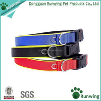 Soft Neoprene Inner Padded Adjustable Nylon Dog Collars