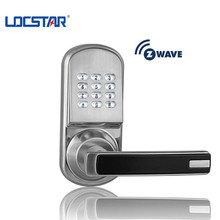 868.4MHz Frequency Smart z-wave Wifi Hotel Door Lock with Keypad