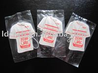 paper T-shirt nice decoration fragrance hanging car air freshener