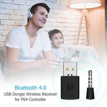 3.5mm Bluetooth Dongle USB 4.0 Adapter Receiver For PS4 <strong>Playstation</strong> 4 Controller Gamepad Console Games Accessories