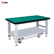Movable steel garage work bench for sales
