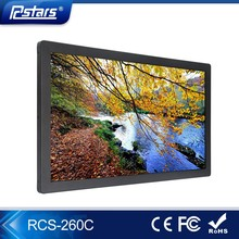 26inch lcd screen advertise network touch screen ad player advertising digital signage player(RCS-260C)