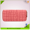 online shopping high quality pink zipper wallet for card