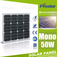 50w low price mini mono crystal best price per watt solar panels