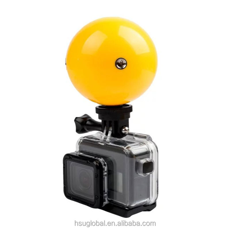 Underwater Camera Floating Ball Buoyancy ball for Go pro Hero5 Multifunction Mini Floaty Holder for Go pro 4/3+ SJCAM Xiaoyi 4k
