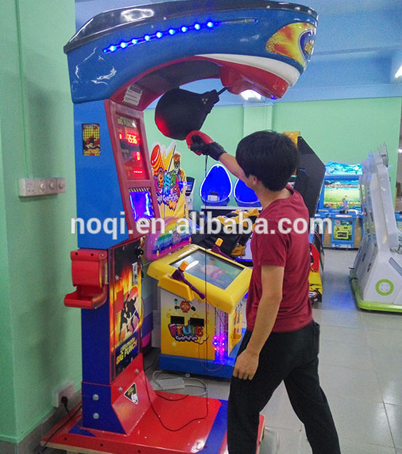 Indoor sport fighting arcade games ultimate big punch ball boxing prize simulator game machine
