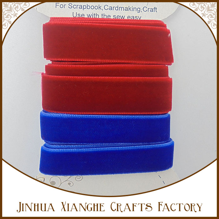 Wholesale Custom Color Silk Wide Velvet Ribbon