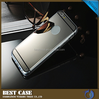 New product for iPhone 6 mirrow phone case electroplating TPU cell phone case