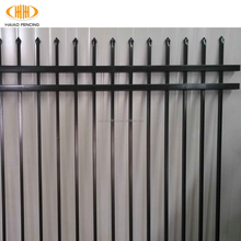 2017 new style High quality low price steel fence (made in China)