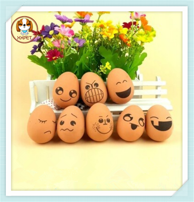 2015 Durable Amusing Bouncing Ball Soft Growing Pet Egg/Dog Toys