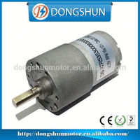 DS-37RS3530 37mm Widely Applicated DC 12V spur gear motor for accessory of automobile