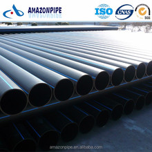 Black white blue polyethylene pipe plastic HDPE water supply pipe