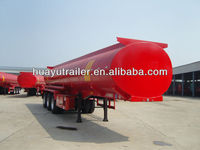 Manufacturer Huayu 3axles fuel tank truck