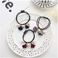 Different types flower headband colorful korean style pearl beads hair ties C-hb219