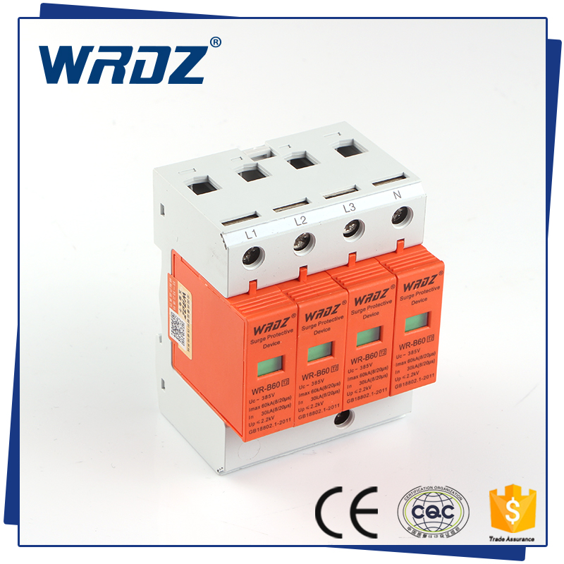 WRDZ High Quality and Professional Electrical Surge Protection (SPD) (WR-B60/4P)