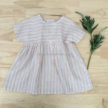 Fashion Stripes Clothes Frocks Design Baby Summer Dress For Little Girls