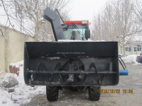 China Farm Machine Hydraulic Front Loader Garden Tractor ZL16 with Snow Blower