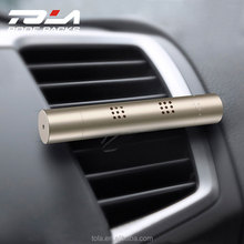 New products 2018 innovative product promotional gifts car vent air freshener luxury aluminum alloy car air conditioner perfume