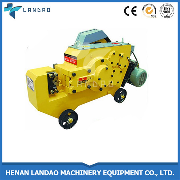 Low cost steel angle bar cutting machine portable rebar cutter