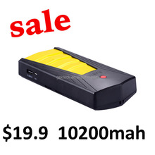 Limited-time promotions mini multi-function car jump starter power bank 10200mah high rate batteries for emergency