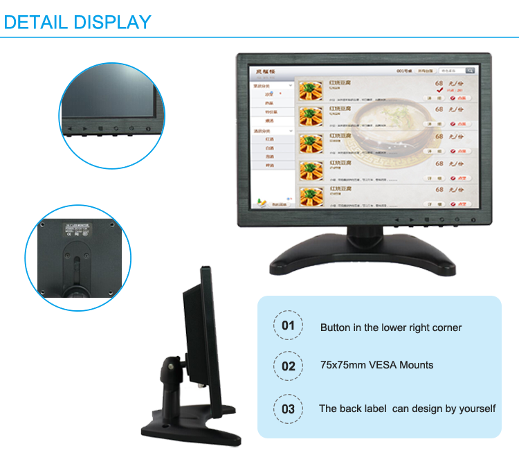lcd display capacitive screen 10 inch 1920x1080 10.1