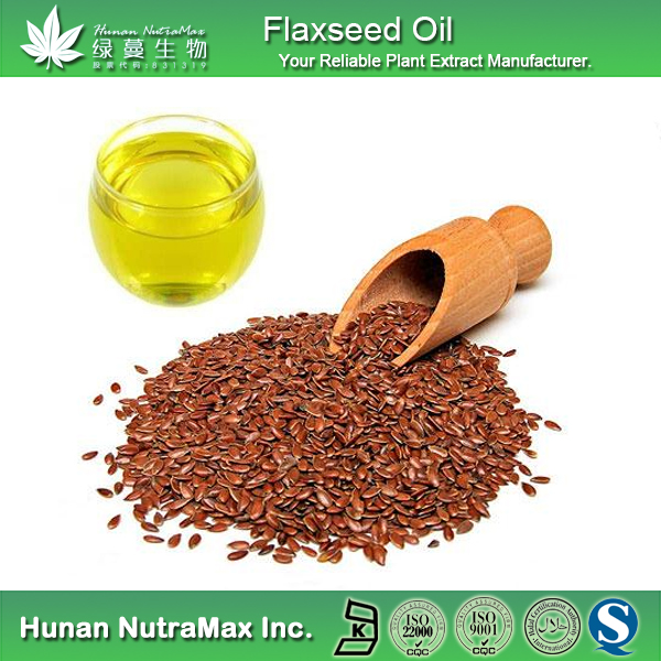 100% Natural Bulk Flax Seed Oil, Flax Seed Oil for Supplement