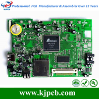 Green soldermask electrical circuits pcb & pcba manufacturer in china