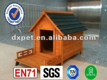 Dog house with porch DXDH009