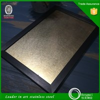 China supplier manufacturer vibration stainless steel wall panel for wall covering panels