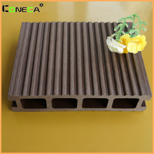 Hot sale factory price outdoor flooring crack-resistant wpc decking