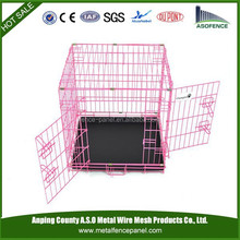 High Quality 5 Sizes Metal Folding Dog Crate